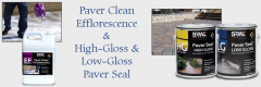 Pelham, NH Paver Cleaner, High Gloss & Low Gloss Paver Seal