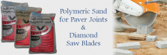 Pelham, NH Polymeric Sand for Paver Joints & Diamond Saw Blades