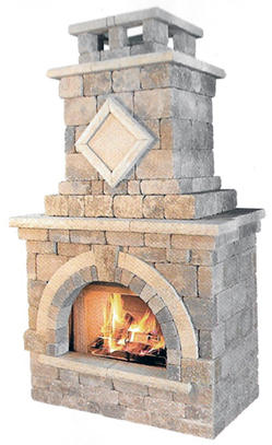Unilock Barcelona Fireplace NH Landscape & Hardscape Supply, Landscaping & Hardscaping Supplies