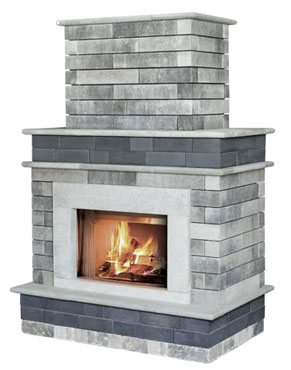 Unilock Bella Fireplace NH Landscape & Hardscape Supply, Landscaping & Hardscaping Supplies