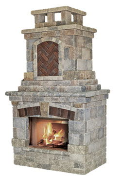 Unilock Tuscany Fireplace NH Landscape & Hardscape Supply, Landscaping & Hardscaping Supplies