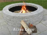 Unilock Roman Stack Fire Pit Kit NH Landscape & Hardscape Supply, Landscaping & Hardscaping Supplies