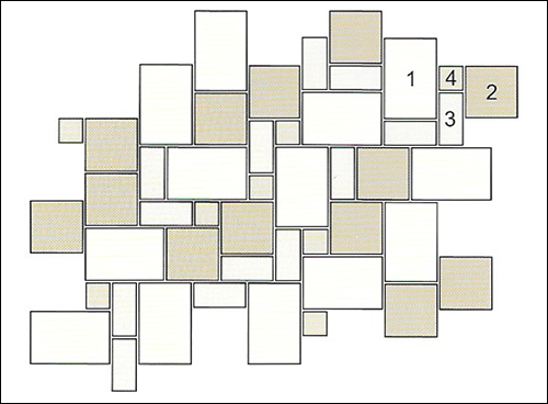 Repeatable Pattern Blue Stone Acres Edge, Pelham  NH Landscape & Hardscape Supply, Landscaping & Hardscaping Supplies