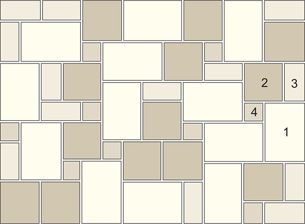 Standard Pattern Blue Stone Acres Edge, Pelham  NH Landscape & Hardscape Supply, Landscaping & Hardscaping Supplies